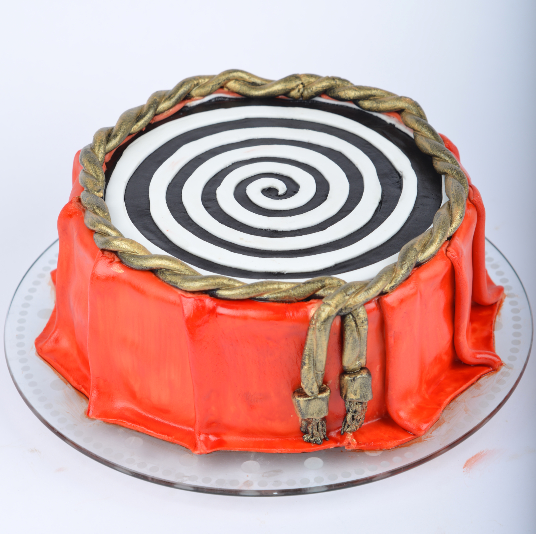 chokoladekage til fondant