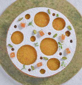 Abrikos-mandeltærte