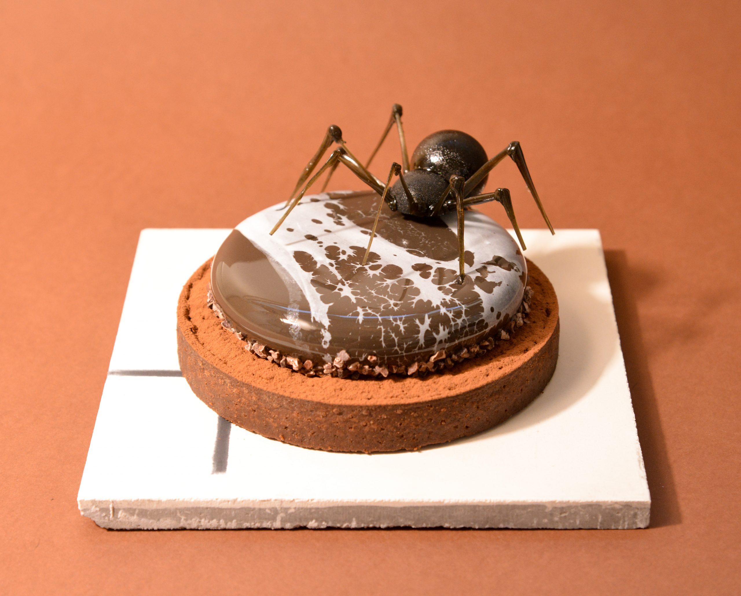Krydret chokoladetærte