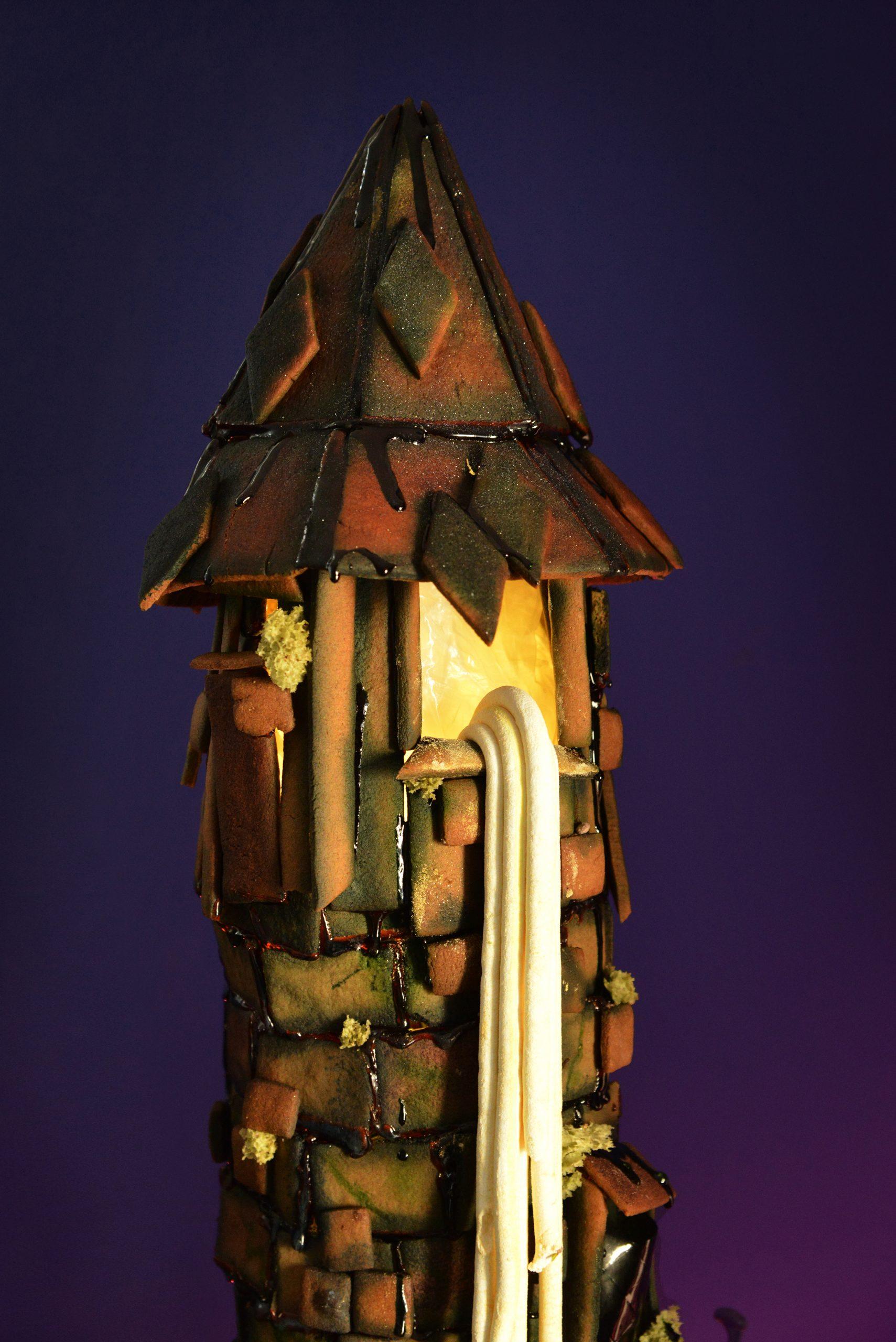 Rapunzel peberkagetårn
